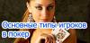 Игроки в покер – разделяем на смешанные категории